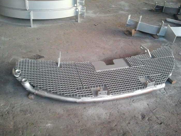 Refurbishing of Water-cooled Copper Panels